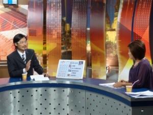 2008/8/23上股海揚帆節目 介紹大六壬看股市