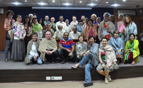 2013年印度占星學院 國際班結業