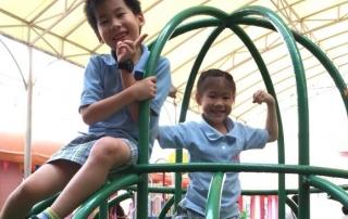 一眼立斷雙胞胎報上理想幼稚園(照片非當事人)